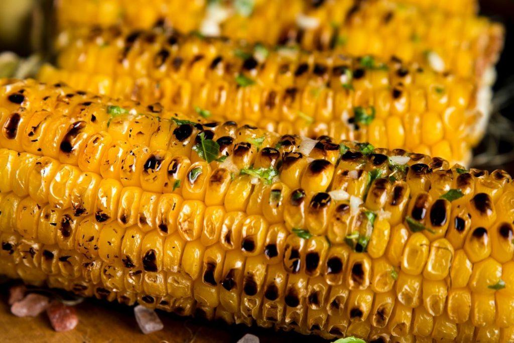 grillattu kevyt maissi