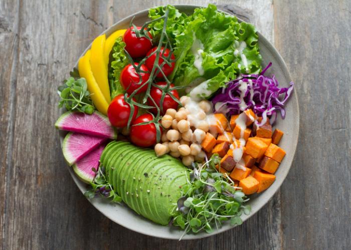 salaatti ateria
